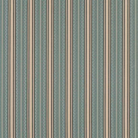 Chilcoat Stripe  Teal Jasper Fabric