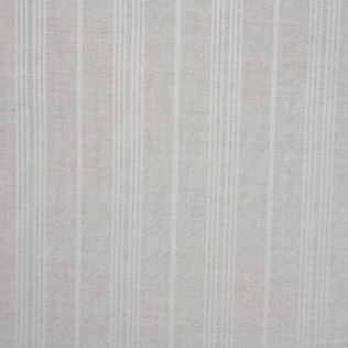 Wool Stripe Sheer Cream Jasper Fabric