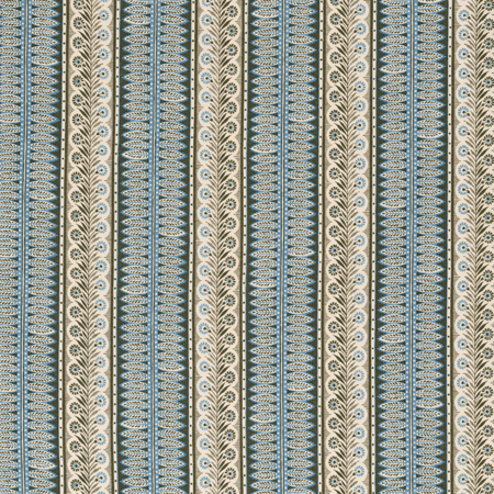 Eastlake - Forest/Blue Jasper Fabric