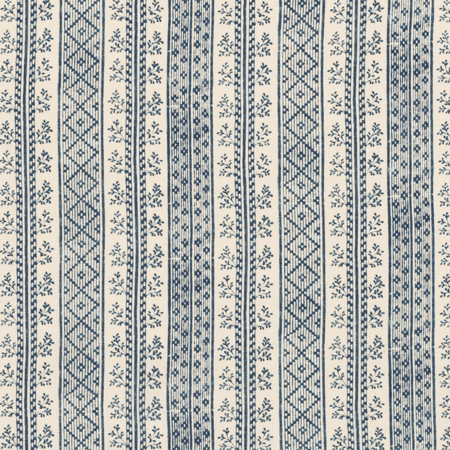 Dutch Stripe  Porcelain Jasper Fabric
