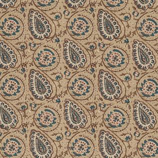 Agra - Blue Jasper Fabric