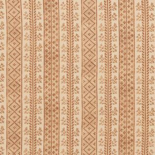 Dutch Stripe Saffron on Light Tea Stain Jasper Fabric