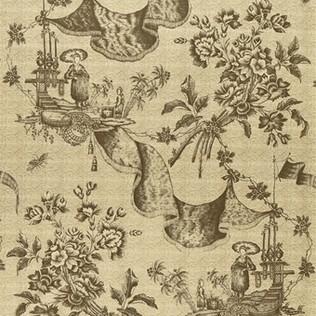 Jasper Fabrics Chinese Toile - Vison