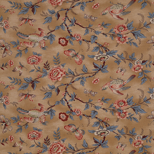 Wallace Vine Original Jasper Fabric