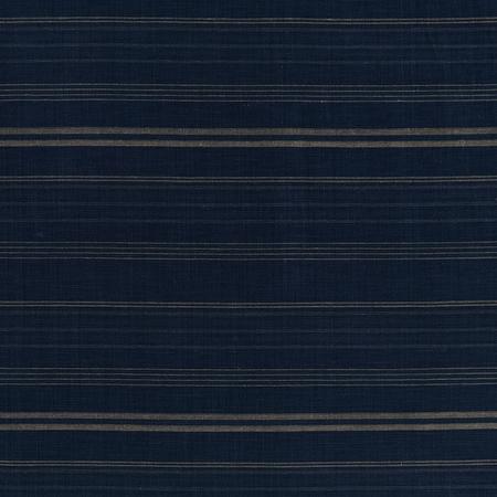 Mali Stripe  Indigo Jasper Fabric