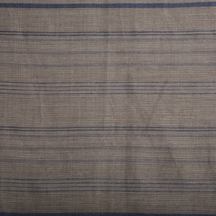 Mali Stripe  Brown Blue Jasper Fabric