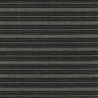 Jasper Fabrics Dogon Stripe - Charcoal