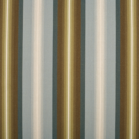 Nash Stripe Blue Jasper Fabric