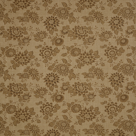 Japanese Stencil - Brown Jasper Fabric