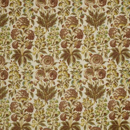 Isle Flower Fawn Jasper Fabric