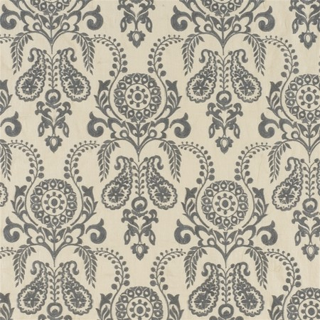 Zamora Grey Jasper Fabric