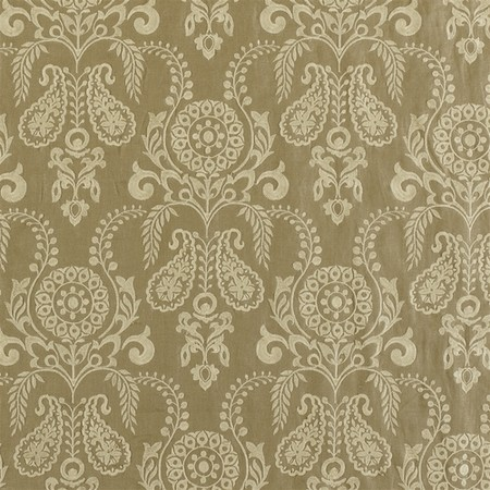 Jasper Fabrics Zamora - Cream on Tan