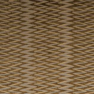 Zig Zag Stripe - Nutmeg Jasper Fabric