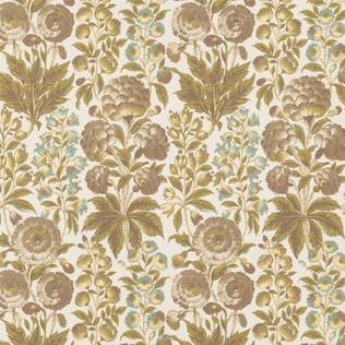 Isle Flower - Fawn Jasper Wallcovering