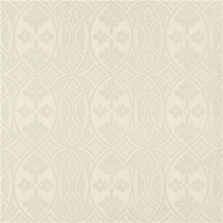 Gothic - Cyan on Butter Cream Jasper Wallcovering