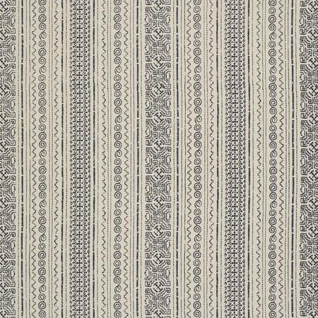Tulum Stripe Indigo Jasper Fabric