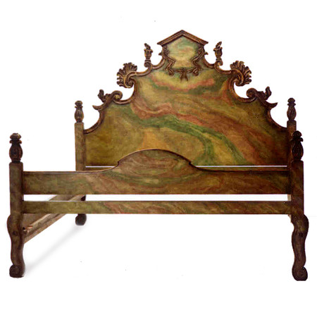 Jasper Furniture Carved Italian Bed - Twin