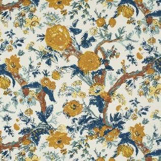 Bangalore Floral Original Jasper Fabric