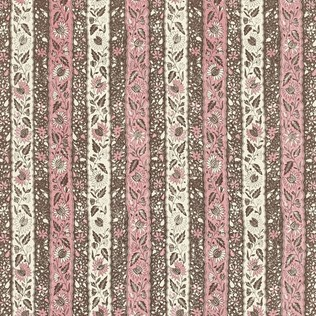 Jasper Fabric Melaya - Pink/Brown