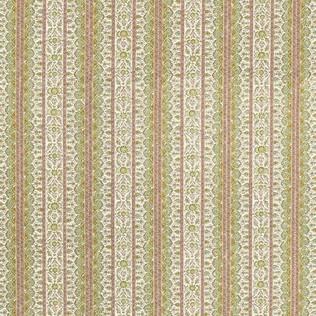 Jammu - Mint Coral Jasper Fabric