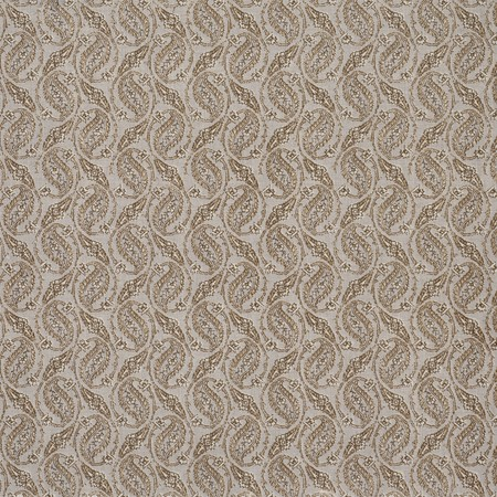 Gainsborough Paisley  Brown Jasper Fabric