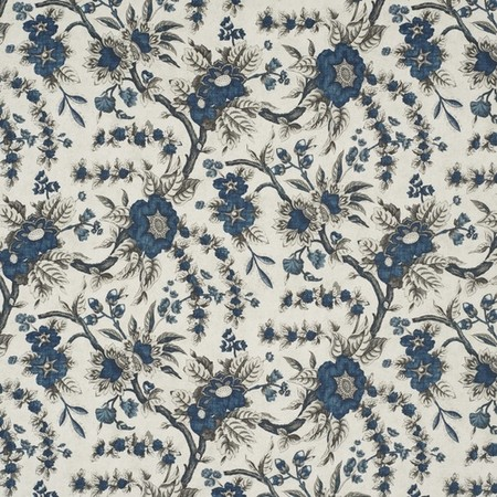 Sintra Floral Indigo Jasper Fabric