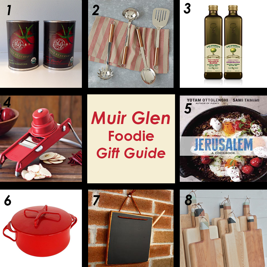 Foodie Gift Guide Ideas by Muir Glen Tomato