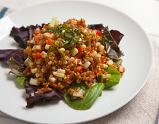 Summer Wheat Berry Salad