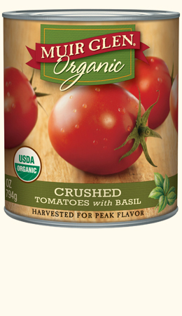 Crushed Tomatoes with Basil