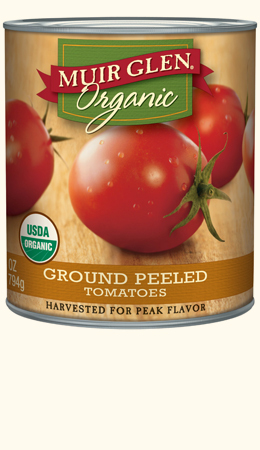 Ground Peeled Tomatoes