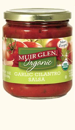 Garlic Cilantro Salsa