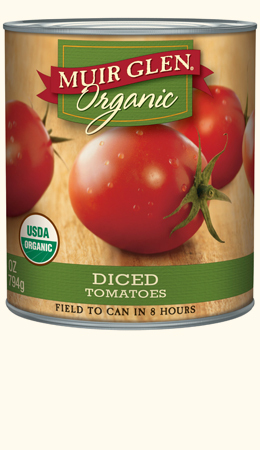 Muir Glen Diced Tomatoes