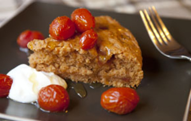 Muir Glen Tomato and Olive Oil Cake Recipe