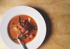 Muir Glen Garlicky Kale and Fennel Vegetarian Minestrone Recipe