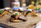 Flank Steak Crostini Appetizer