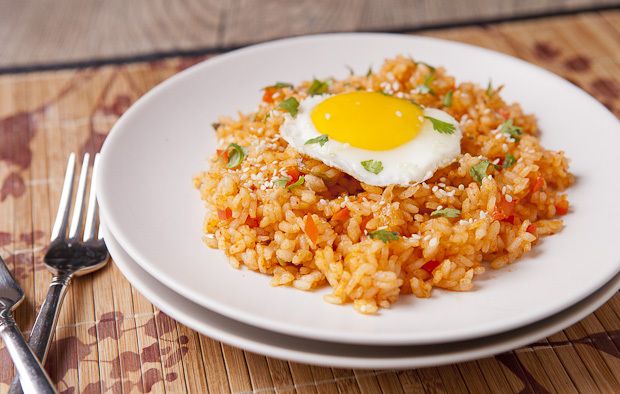 Ketchup Fried Rice