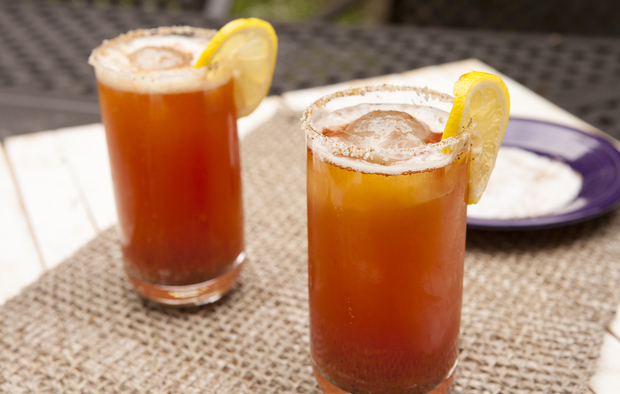 Tomato Water Michelada