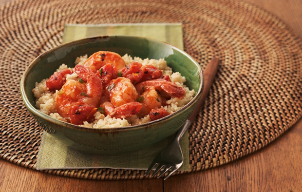 Muir Glen Fire Roasted Tomato-Shrimp Veracruz