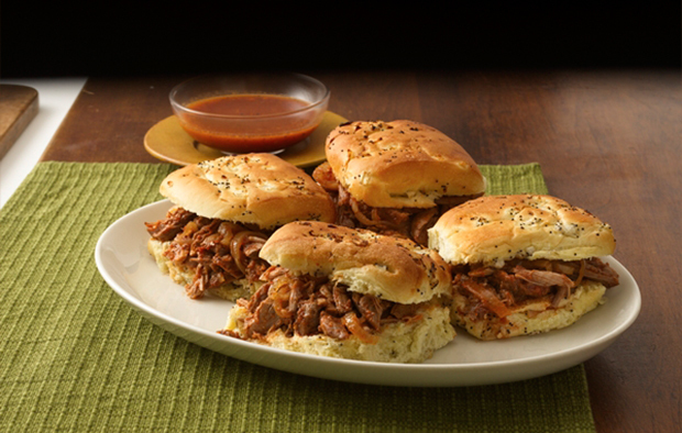Muir Glen Spicy Pulled-Pork Sandwiches