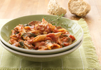 Muir Glen Penne with Mushroom-Tomato-Cream Sauce
