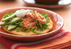 Muir Glen Shrimp Biscuit Tostadas
