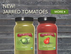 Muir Glen Jarred Tomatoes