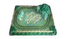 Haagen Dazs Custom Train Cake
