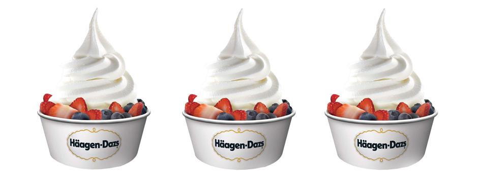 Haagen Dazs Frozen Yougurt
