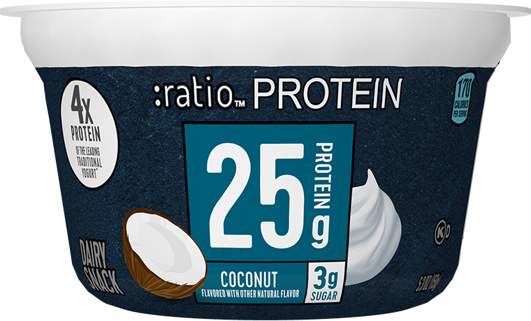 Ratio Food High Protein Snacks Coconut Dairy Snack