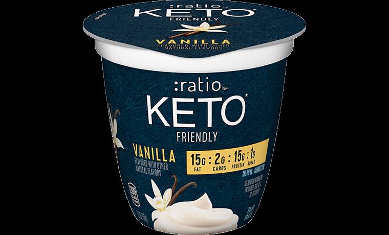 Ratio Food KETO friendly Snacks Vanilla Dairy Snack