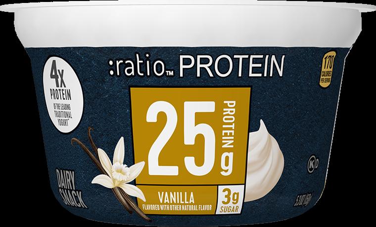 Ratio Food High Protein Snacks Vanilla Dairy Snack