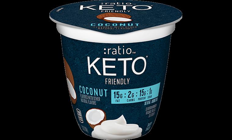 Ratio Food KETO friendly Snacks Coconut Dairy Snack