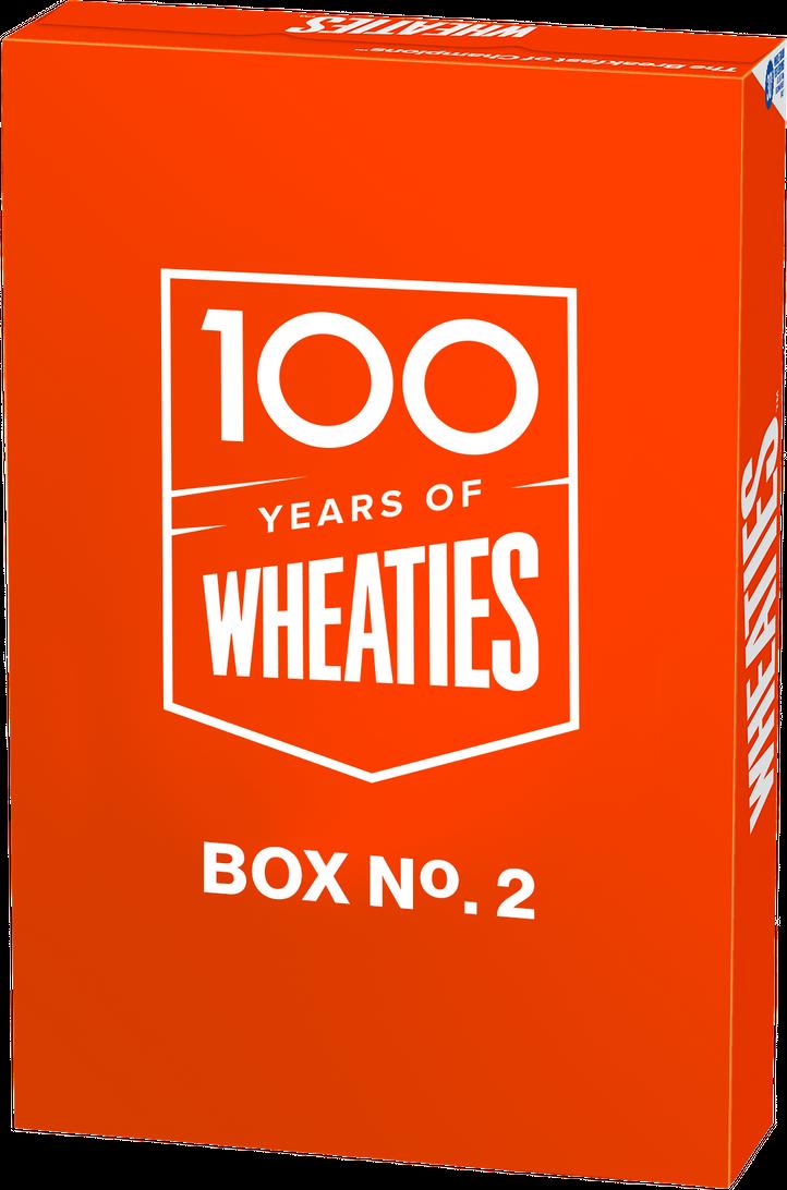 100 Years of Wheaties Box No. 2