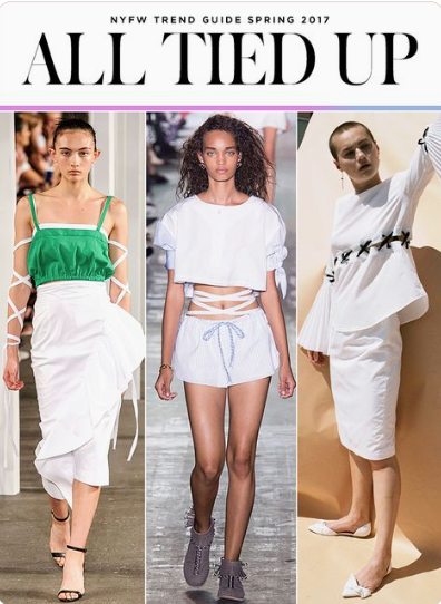 5f3a105c0d This year trends include frills and laces as main wardrobe staples. Ruffled  off the shoulder tops and asymmetric dresses balance femininity with a  little ...